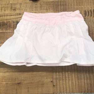 Pastel pink lululemon skort